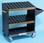 Huot BT,CAT 40 CNC Tools Heavy Duty Super Scoot/Tool Cart- Holds 90 Toolholders
