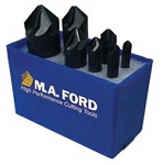 7 Pcs. M.A Ford  82 Deg. Series 64 UniFlute (1 FLT) Countersinks Set