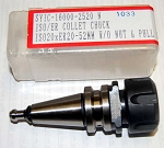 Techniks ISO 20 ER 20 40K RPM Balanced Collet Chuck w/Pull Stud-CNC Routers