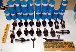 48 Pc. Techniks CAT 40 ER 16 & ER 32 25K RPM Balance CNC Mill Collet Chucks Kit