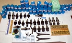 101 Techniks CAT 40 Tooling Kit for Haas,Fadal CNC Mill-ER Collet,Chuck,Stud