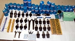 113  Pcs. Techniks CAT 40 CNC Mill Tooling Kit-Haas,Fadal-End Mill Holder,Stud