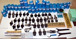 125 Techniks CAT 40 Tooling Kit for Mori-Seiki CNC Mill-ER Chuck,Stud,Collet,EMH