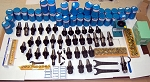 135 Techniks CAT 40 Tooling Kit for Mori-Seiki CNC Mill-ER Chuck,Stud,Collet,EMH
