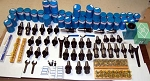 137 Techniks CAT 40 Tooling Kit for Haas,Fadal CNC Mill-ER Collet,Chuck,Holder