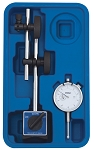 Fowler Magnetic Base & White Face Indicator without Fine Adjust