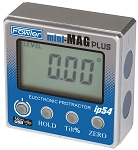 Fowler Mini-Mag PLUS 360 Deg. x 0.05 Deg. (Resolution) Protractor w/IP54 Coolant & Fluid Resistant