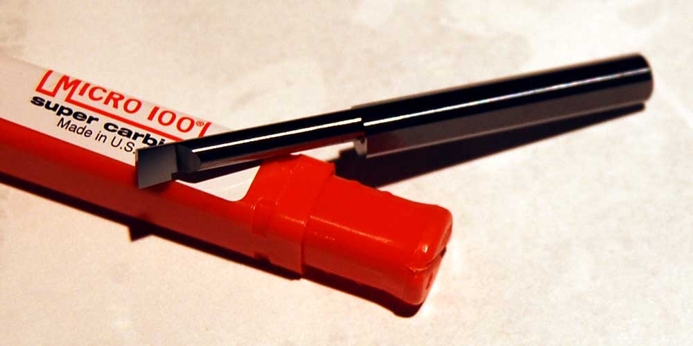 Solid Carbide Tool 3//8 Shank Diameter 1.100 Maximum Bore Depth No Cutting Radius 0.080 Projection TiN Coated BB-3201100SG 0.320 Minimum Bore Diameter Right Hand Boring Tool 2-1//2 Overall Length Micro 100