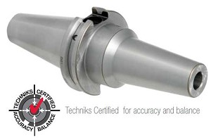 Techniks CAT 40 3/4' x  5'  25K RPM Balanced High-Precision Extended Length CNC Shrink Fit Holder -.0001' TIR