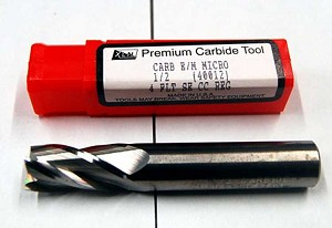 "1/2"" 4FLT SE Carbide Square End Mill - Made in USA"