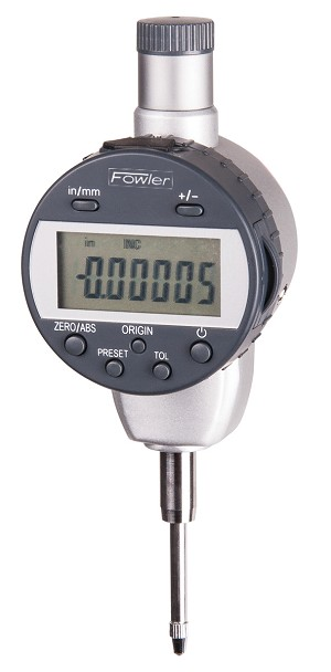 "Fowler 1""/25mm x 0.00005""/.001mm (Resolution) Indi-MAX Electronic Indicator w/Point Set"