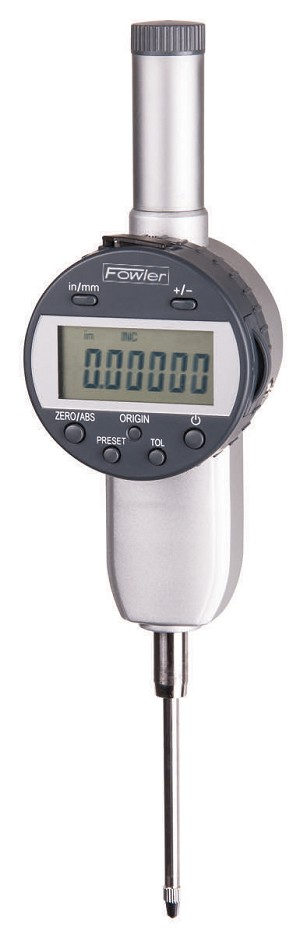 "Fowler 2""/50mm x 0.00005""/.001mm (Resolution) Indi-MAX Electronic Indicator w/Point Set"