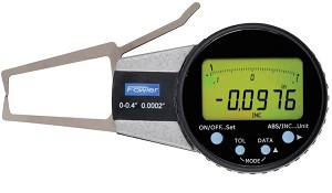 "Fowler 0-0.400""/0-10mm External Electronic Caliper Gage"
